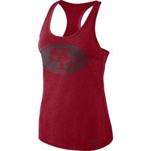 San Francisco 49ers athletic tank